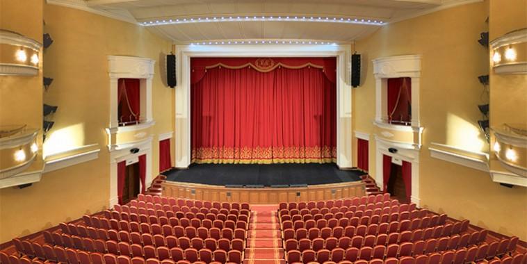 Разработка виртуального тура для Пензенского областного драматического театра имени А.В.Луначарского