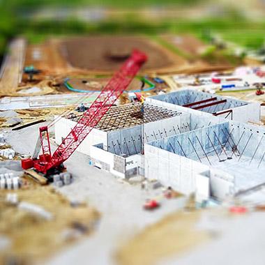 Сайт строительной компании «КМ»